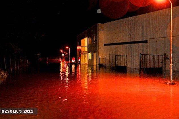 Následky pondělní bouřky a lijáku v Přerově