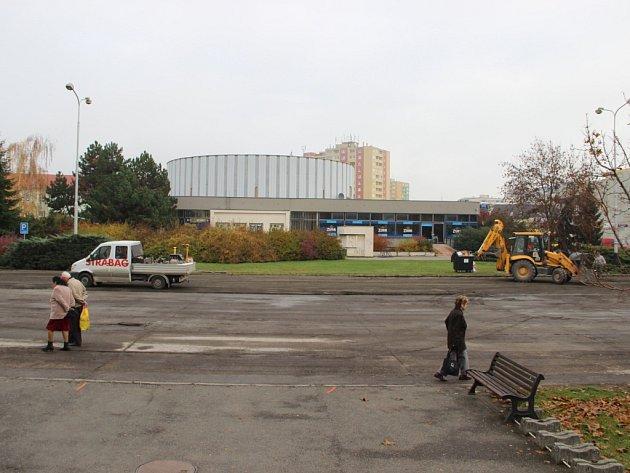 Opravy náměstí Přerovského povstání v Přerově