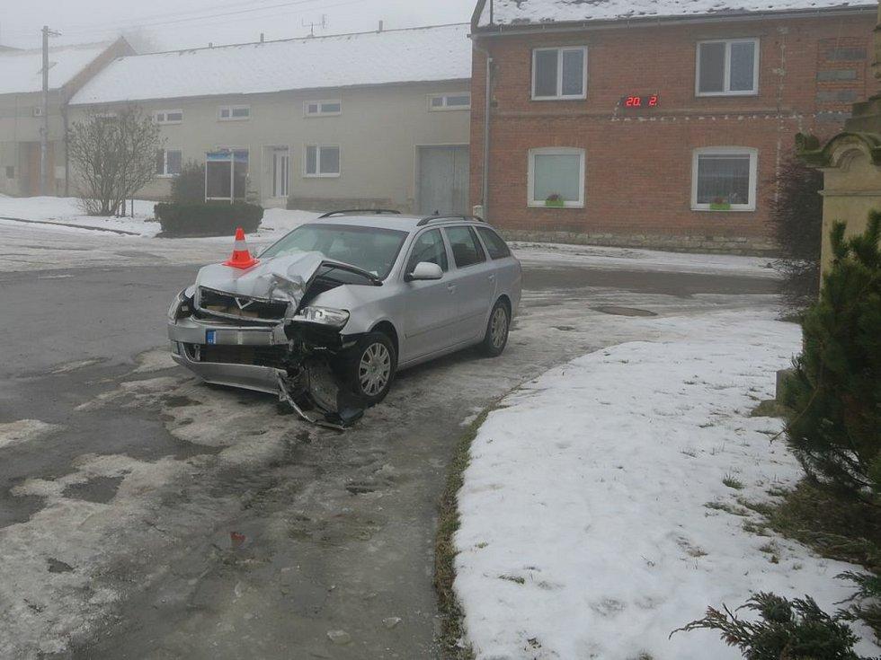 Nehoda v Nelešovicích