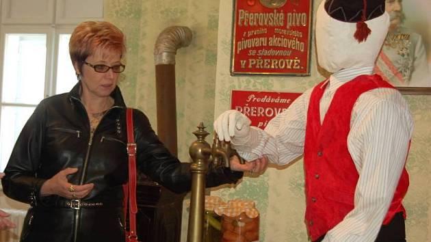 Výstava o přerovském pivovarnictví v Muzeu Komenského