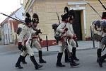 Vojáci rakouské a francouzské armády z období napoleonských válek se vydali v sobotu dopoledne na tradiční Dušičkový pochod, který vedl z Dřevohostic do Bystřice pod Hostýnem.