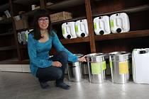 Veronika Dohnalová z Oseku nad Bečvou se rozhodla v Přerově založit bezobalový obchod