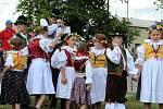 Hudební Pavlovice Václava Drábka 2018.  Mezi deseti vystupujícími byla Veselá muzika z Ratíškovic a dětský folklorní soubor Hanácké Prosének z nedalekých Prosenice (na snímcích).