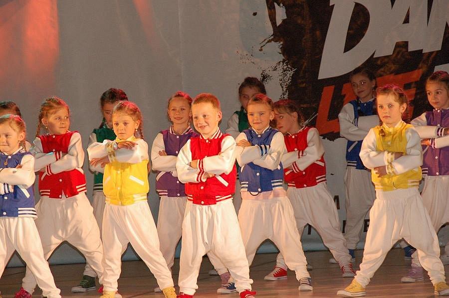 Mistrovství Moravy malých tanečníků a tanečnic v přerovské sportovní hale