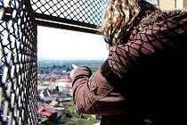 Vyhlídka ze Spanilé věže. Zahájení sezony na tovačovském zámku