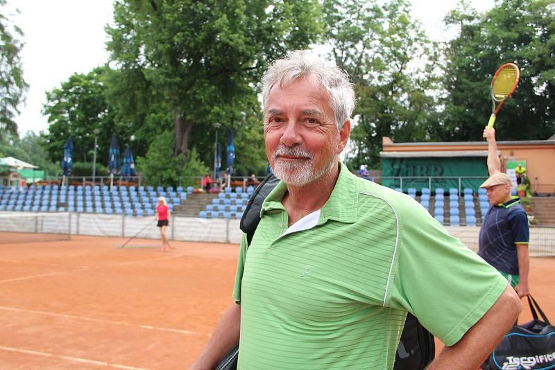 Ivo Jahelka. Tenisová akademie Petra Huťky Acuna cup v Přerově. Červen 2021