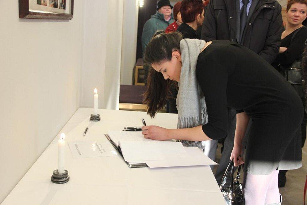 Rozloučení s bývalou správkyní hradu Helfštýn Marcelou Kleckerovou v kulturním domě Echo v Lipníku nad Bečvou