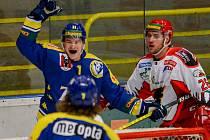Jan Štefka dává rozhodující gól derby s Prostějovem.