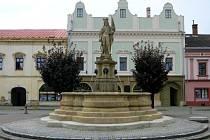 Raně barokní kašna na tovačovském náměstí prošla v letech 2013-14  rekonstrukcí.