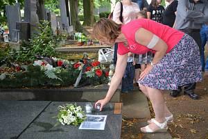 V Přerově si připomněli vraždu Milady Horákové, popravené před sedmdesáti lety komunisty