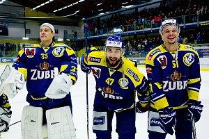 Hokejisté HC Zubr Přerov proti Kladnu (4:3)
