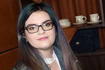 Studentka Střední školy gastronomie a služeb v Přerově Tereza Skálová skončila druhá v silné konkurenci kategorie make-up mezinárodní soutěže Kalibr cup 2020 v Lanškrouně.