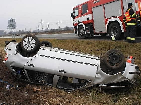 Nehoda fabie u Říkovic