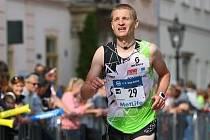Petr Kučera na Mezinárodním maratonu míru v Košicích