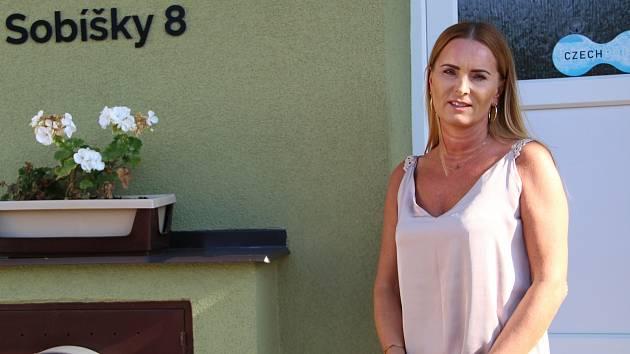 Starostka obce Sobíšky Kateřina Krejčí
