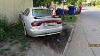Opilý řidič Renaultu Espace v Přerově odstřelil zaparkovaný renault a seat