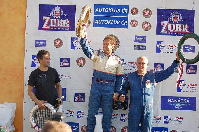 V Přerově se o víkendu jel 6. závod mistrovství Evropy v autokrosu.