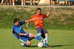 Kozlovice (v oranžovém) proti Zlatým Horám