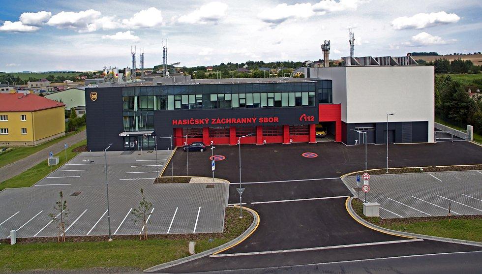 Nová hasičská zbrojnice v Přerově - 15. 7. 2020