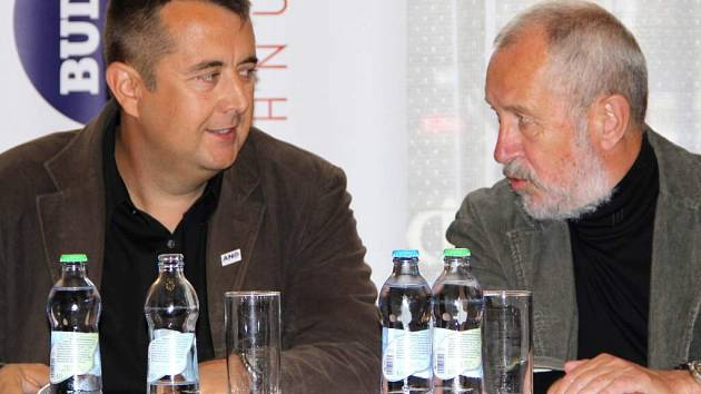 Petr Vrána (ANO) a Vladimír Puchalský (SpP)