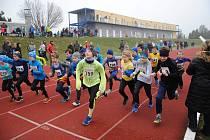 Jarní běh 2019 na stadionu SK Přerov.