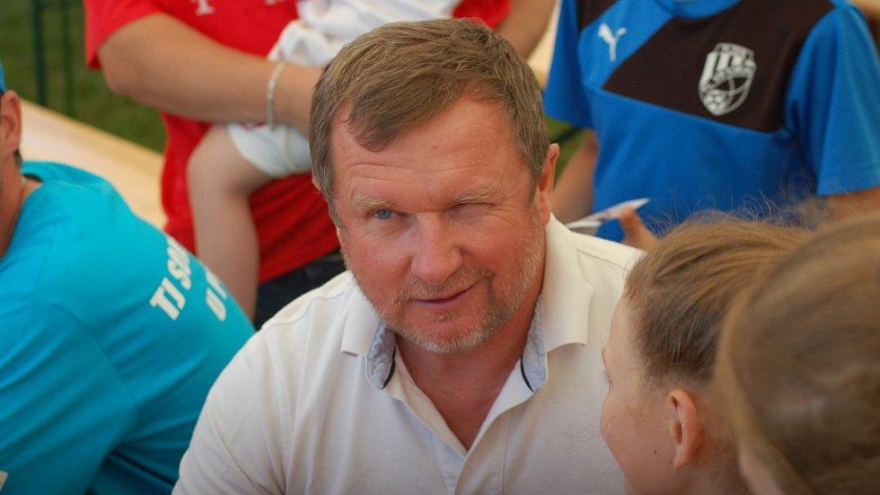 Pavel Vrba zaštítil sportovním dnu v Pavlovicích u Přerova v červnu 2017