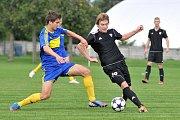 FC Želatovice (v modrém) vs. 1.HFK Olomouc B