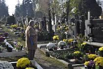 Dušičky na Městském hřbitově v Přerově
