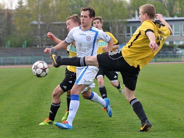 1.FC Viktorie Přerov (v bílém) – MFK OKD Karviná B
