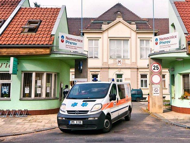 Nemocnice Přerov. Ilustrační foto