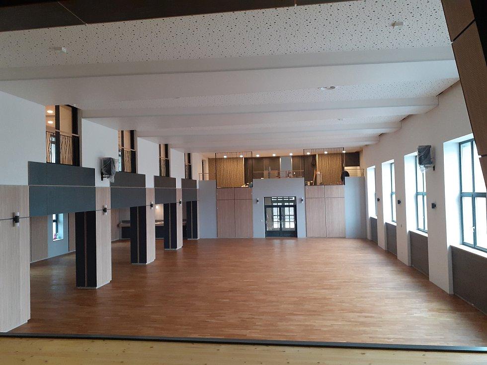 Sokolovna v Oseku nad Bečvou prošla rekonstrukcí.