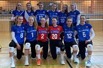 Volejbalová reprezentace dívek do 16 let se připravuje v Přerově.