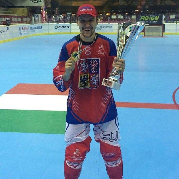 Mistr světa vinline hokeji 2016Mikuláš Zbořil