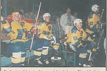 Jaromír Jágr se v srpnu roku 1995 představil na přerovském zimním stadionu v jedinečném exhibičním utkání Přerov - Zlín (6:5). Takto o účasti světové hvězdy informoval týdeník Nové Přerovsko v pátečním vydání 11. srpna 1995