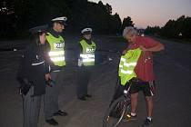 Preventivní kontroly cyklistů