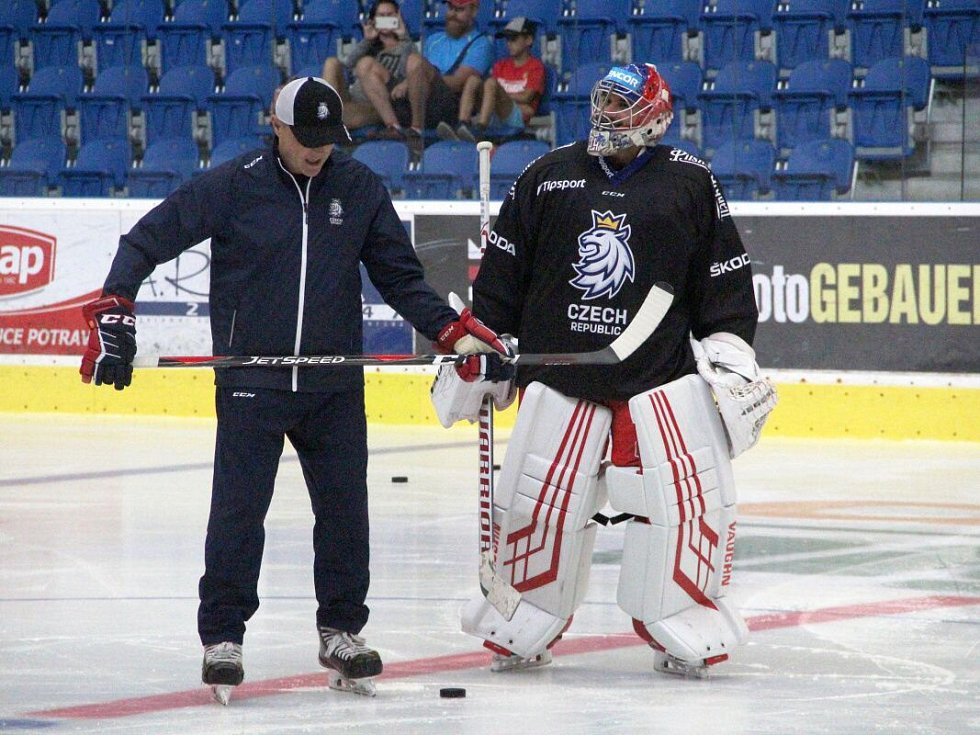 Zdeněk Orct a Petr Mrázek (vpravo)