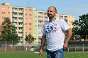 Tomáš Vajda v roli asistenta u divizních mužů 1. FC Viktorie Přerov