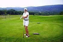 Golfistka Kateřina Růžičková