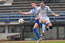 Fotbalisté Přerova (v bílém) proti Vítkovicím