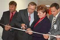 Slavnostní otevření nově zrekonstruovaného pavilonu interních oborů v Přerově