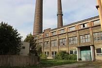Areál někdejší městské elektrárny v Přerově