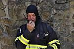 Cvičení Integrovaného záchranného systému na hradě Helfštýn