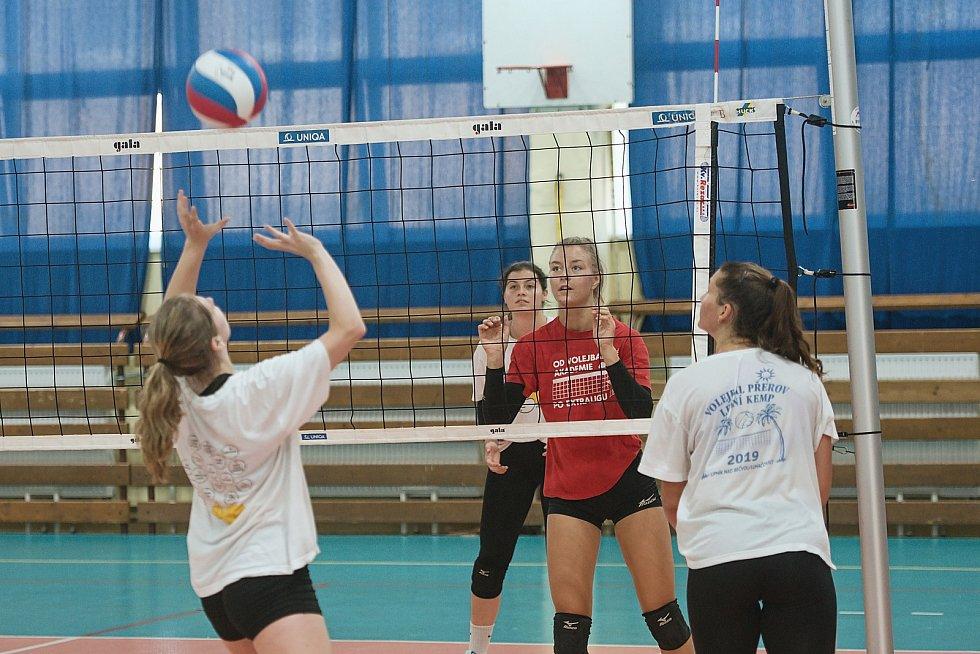 Volejbalistky Přerova se připravují na novou sezonu.