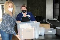 Příprava vakcinačního centra v přerovském klubu Teplo