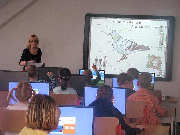Nové učebny v rekonstruované škole v Radslavicích