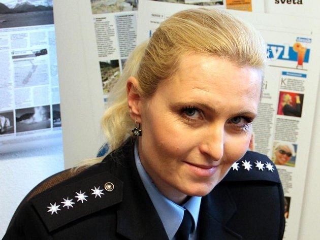 MIchalea Sedláčková při on-line rozhovoru pro Přerovský deník