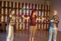 Show ve stáčírně přerovského pivovaru
