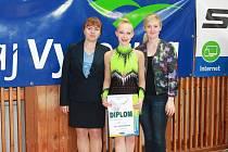 Sára Zbožínková po úspěšném mistrovství republiky.
