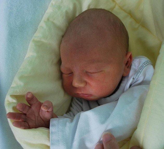 Dominik Plesník, Drahotuše, narozen 4. srpna 2010 v Přerově, míra 50 cm, váha 3 780 g