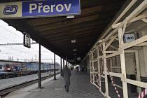 Vlakové nádraží v Přerově